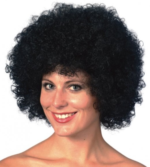 Afro wig for Halloween
