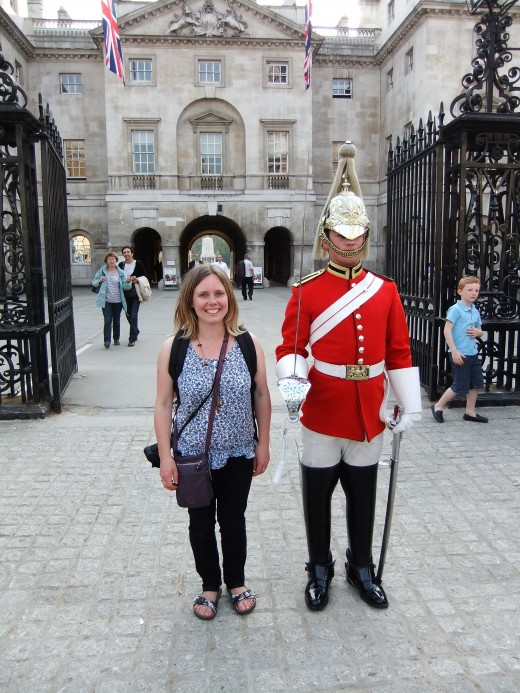 Outside the Horse Guard's Parade