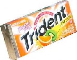 Like Orbit, some Trident gum does not contain xylitol. Best to read the label.