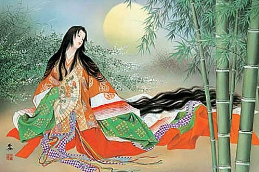 Kaguya Hime (princess) - Taketori Monogatari.