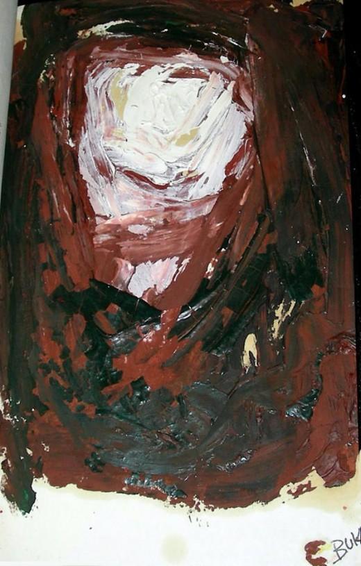 Painting By Charles Bukowski