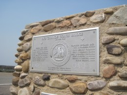 Marker for the Rio Grande River Gorge Bridge