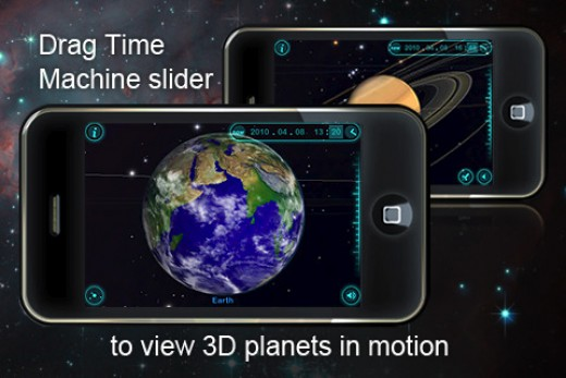 iPhone space exploration