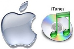 The Apple and iTunes Logo