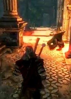 Witcher 2 Gargoyle Quest