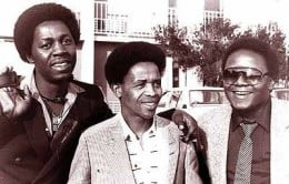 Soul Brothers, one of the most famous and enduring groups in south Africa