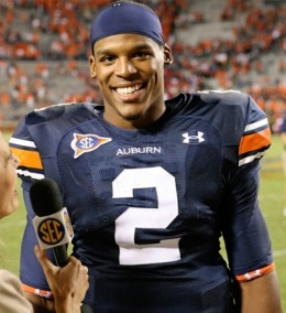 Cam Newton number one draft pick of the 2011 draft