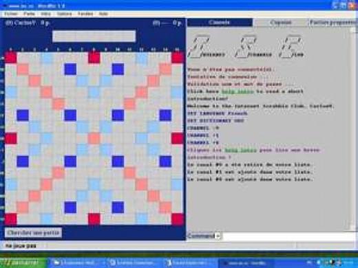 The Internet Scrabble Club