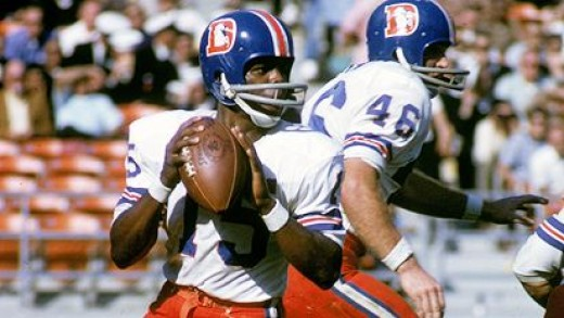 The AFL needed players and were more receptive to black quarterbacks. Marlin Briscoe was the first