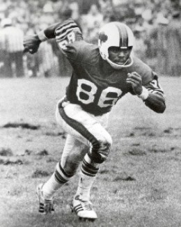 Marlin playing reciever for the bills