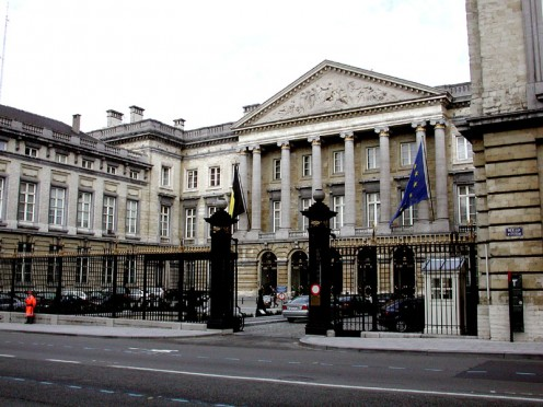 Brussels Parliament building (Palace of the Nation)