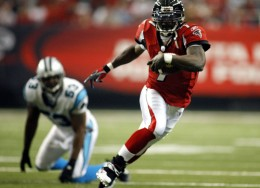 Michael Vick the first black quarterback drafted number one overall.