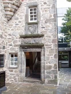 Doorway of Provost Skene's House, Aberdeen