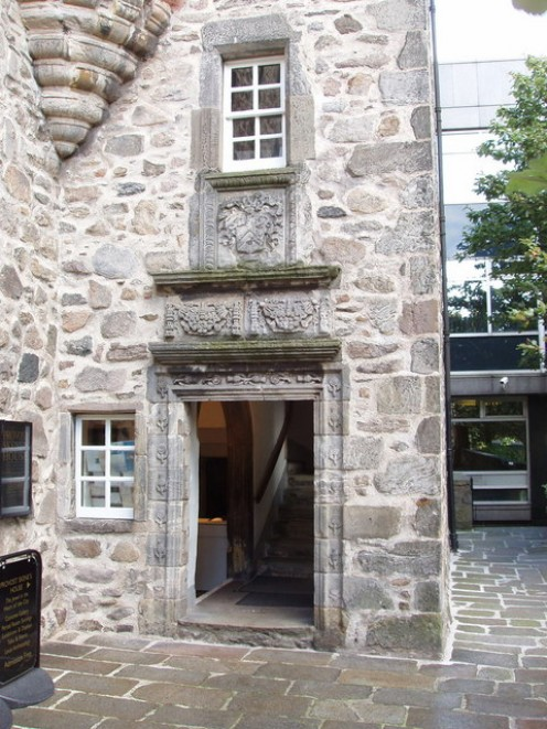 Doorway of Provost Skene's House, Aberdeen