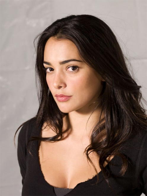 Cuban-American Natalie Martinez is an actress and spokesmodel for the JLO brand.