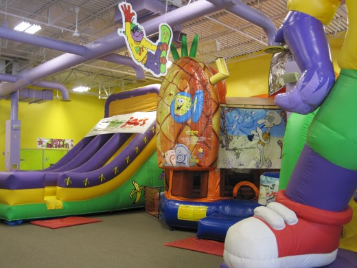 Indoor Inflatable-Filled FUN!