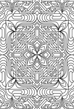 geometric patterns coloring pages free coloring pages