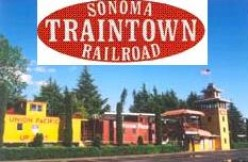 Sonoma Train Town in Napa Valley, California - A Family Amusement Park with Steam Engine Trains and Gentle Rides