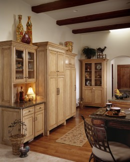 Custom cabinets for dinning room