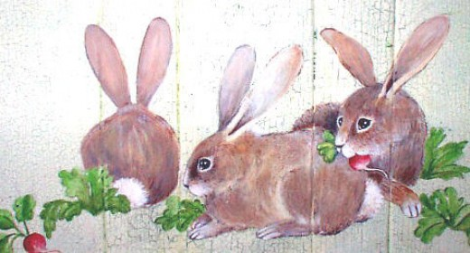 three bunnies this time