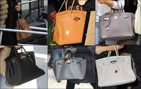 Here's a collage Kim's Hermes Birkin bags. Can u say fabulous.