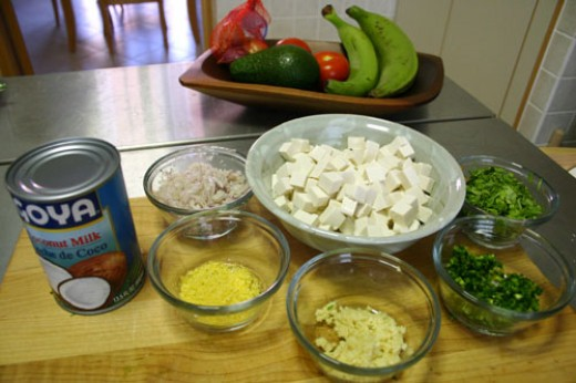 Coconut tofu sauce makes a great desert or sweet sauce.