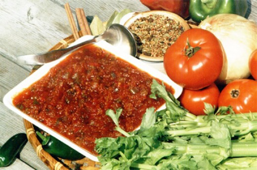 Chili sauce is another favorite and is the base for Mexican and Cajun foods. This one is worth experimenting with. Some ingredients are also used in curry.
