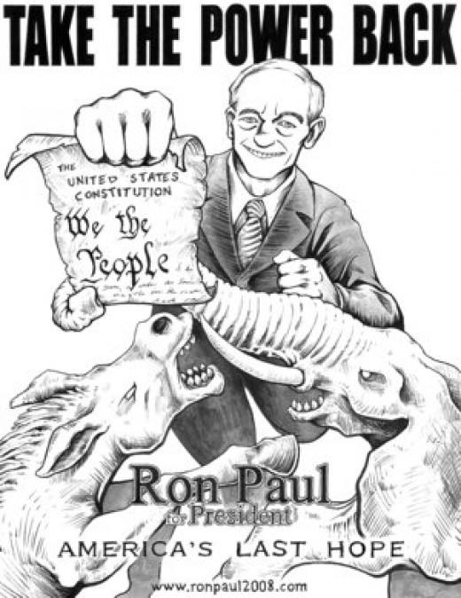 "Ron Paul is considered ""the intellectual godfather"" of the Tea Party movement."