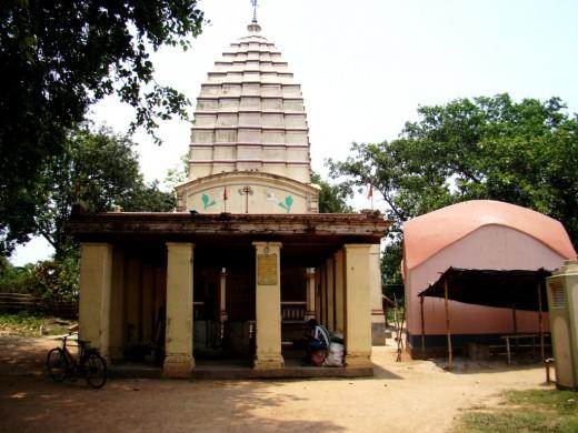 Themain temple of Jateswar Shiva