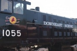 Downeast Scenic - Maine's newest tourist train ride.
