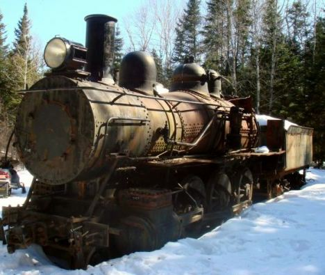 The Trains Of Eagle Lake And The Allagash Wilderness