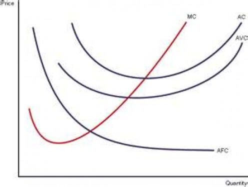 Average cost curves