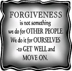 Forgiveness is always a step forward. source psychology today