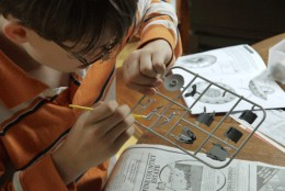 Model building teaches patience, planning and eye to hand motor skills.