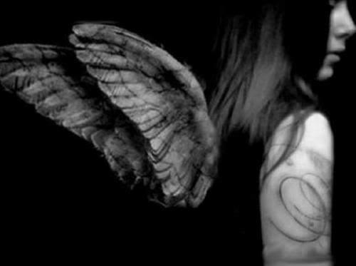 Stone Angel (Angel turning into stone)