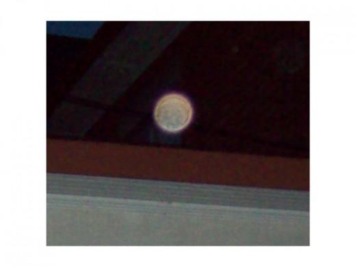 An orb! Does this mean a spirit????