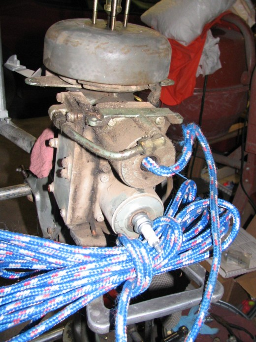 Rope in Cylinder