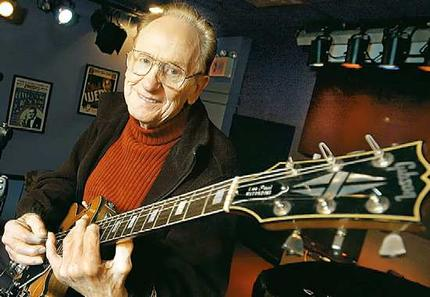 The one and only Les Paul. Photo from stereogum.com