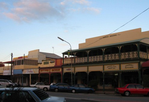 Broken Hill Main Street