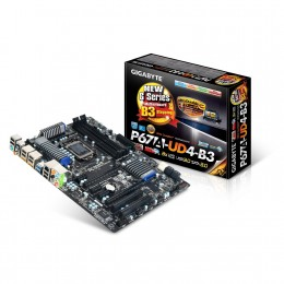 GIGABYTE Socket 1155/Intel P67/CrossFireX&SLI/SATA3&USB3.0/A&GbE/ATX Motherboard GA-P67A-UD4-B3
