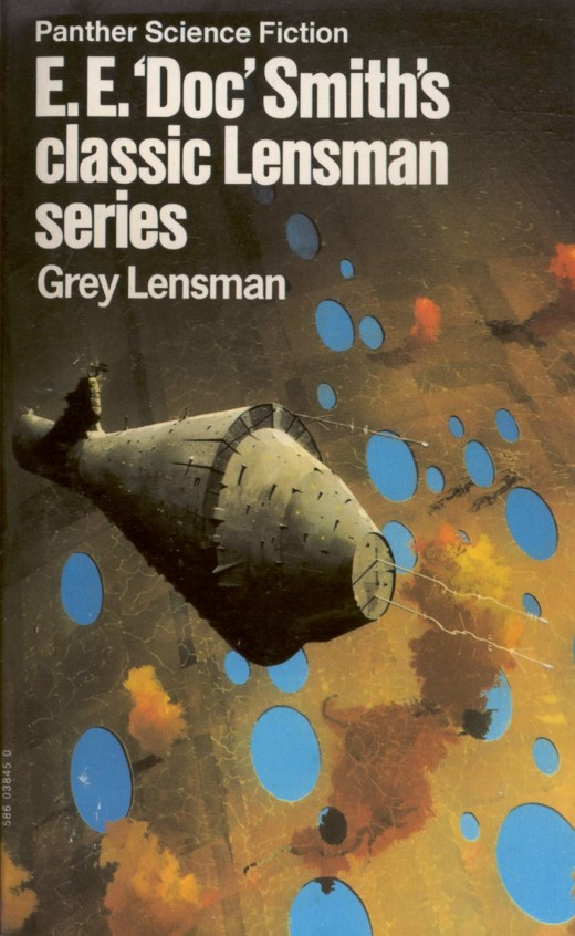 Grey Lensman - art by Chris Foss
