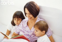 It is a proven fact that when parents read to their children regularly they foster good reading skills.