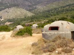 Pill-box bunkers litter the countryside. In his paranoia, Hoxha believed the Italians were going to invade. Or so he told his people.