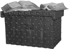 Domesday Book in its chest