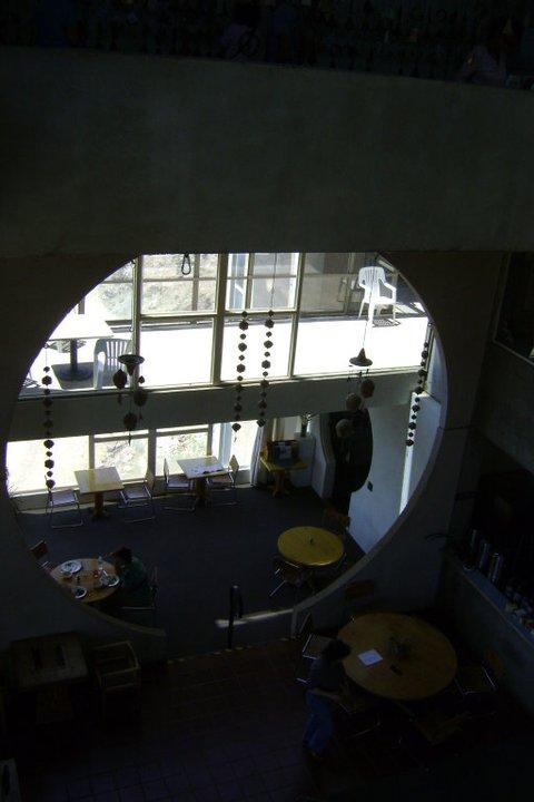 dining area (cement block)