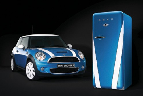Perfect for the City trendoid - matching mini and Smeg fridge
