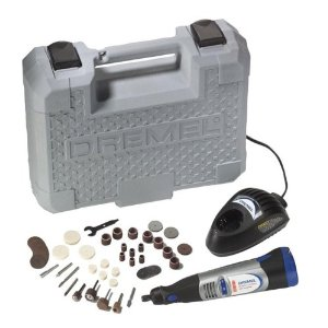 The Dremel 8000 series is a popular cordless rotary tool.