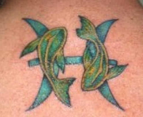 Tattoo Ideas: Zodiac Signs -- Pisces