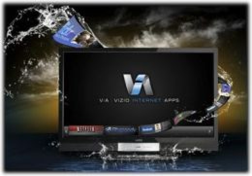 VIZIO Internet Apps (VIA) connects your HDTV to a variety of online entertainment and news sources -- image credit: amazon.com