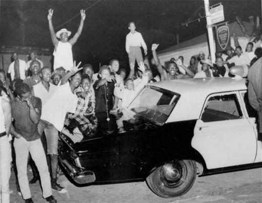 ANARCHY in Los Angeles 1965.